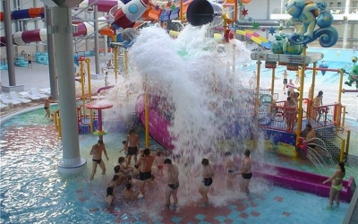 аквапарк терминал водные развлечения