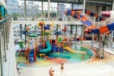Детская площадка аквапарка терминал
